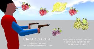 Chasse aux fraises