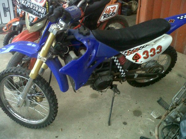 BMC BANJIT MOTOR CROSS Modifikasi Motor Cross