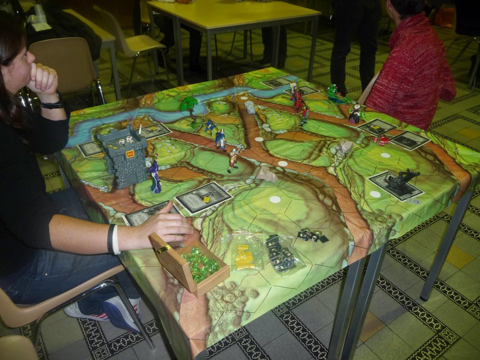 Populaire C Fair-Play: Création d'un jeu de société de stratégie : Légendes  AG12