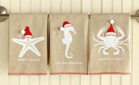Beach Santa Towels