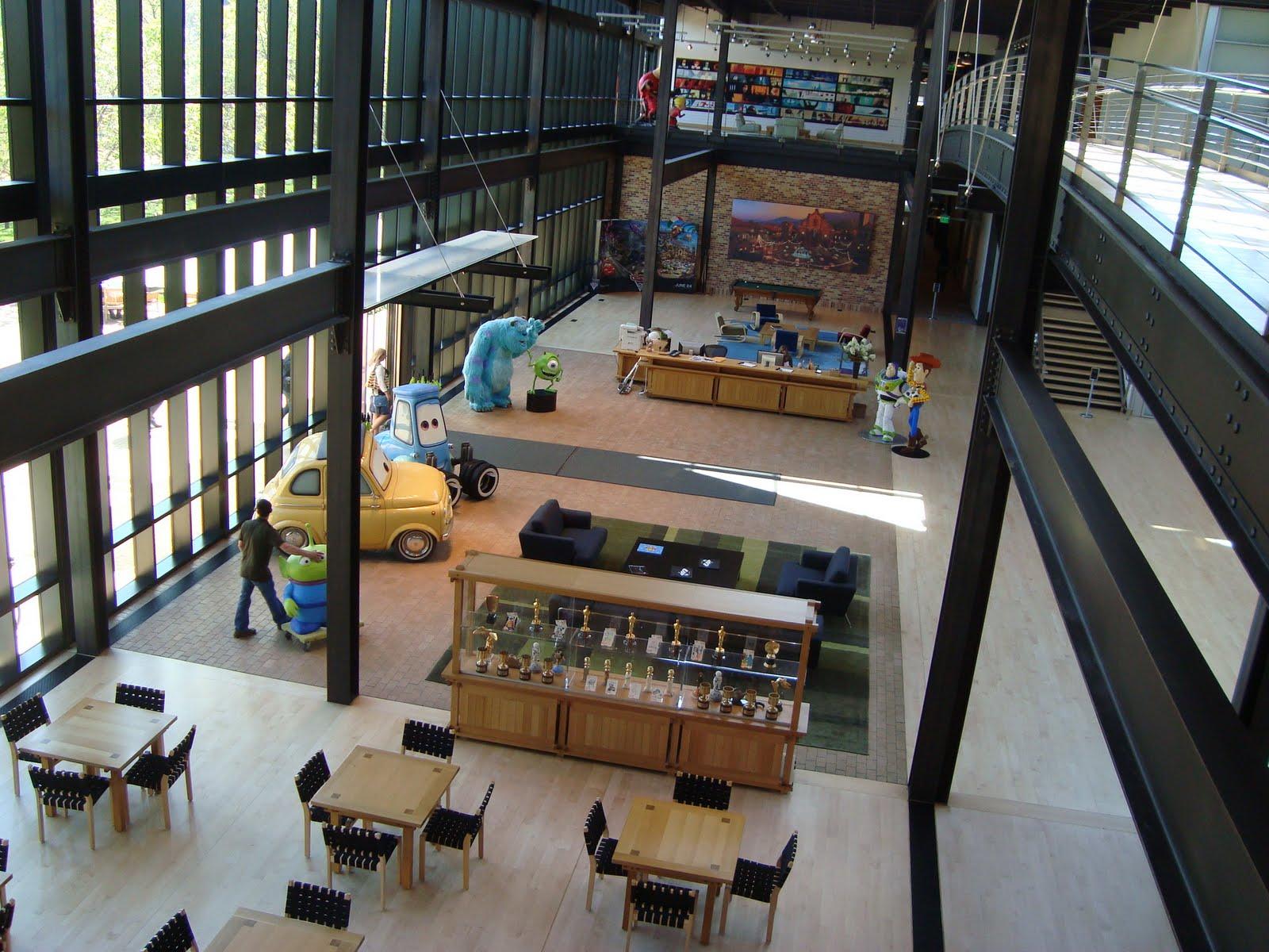 Pixar corner may 2011 for Oficinas pixar