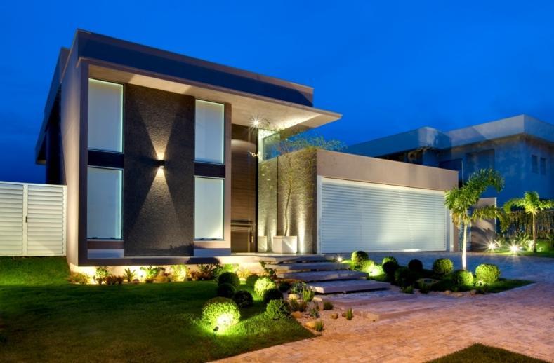 Fachadas de casas e muros veja modelos e dicas - Pintura casa moderna ...