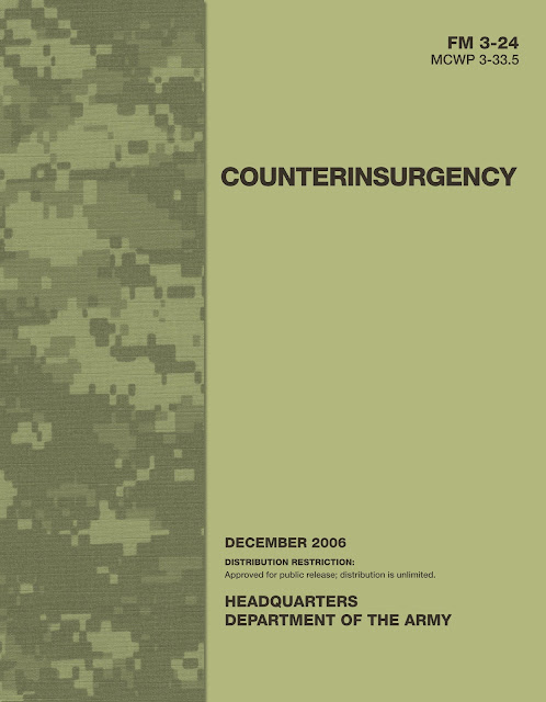 Countering the Corporate Insurgency  COIN USMC FM3 24 Cover