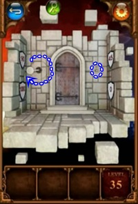 100 Doors Parallel Worlds Level 35 36 37 Hint