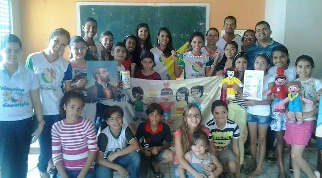 Paróquia de Novo Lino (AL) realiza encontro de formação da IAM e JM