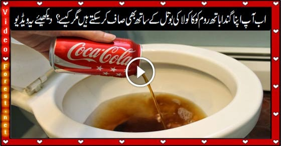 How to Clean a Toilet With Coca Cola? Check it out