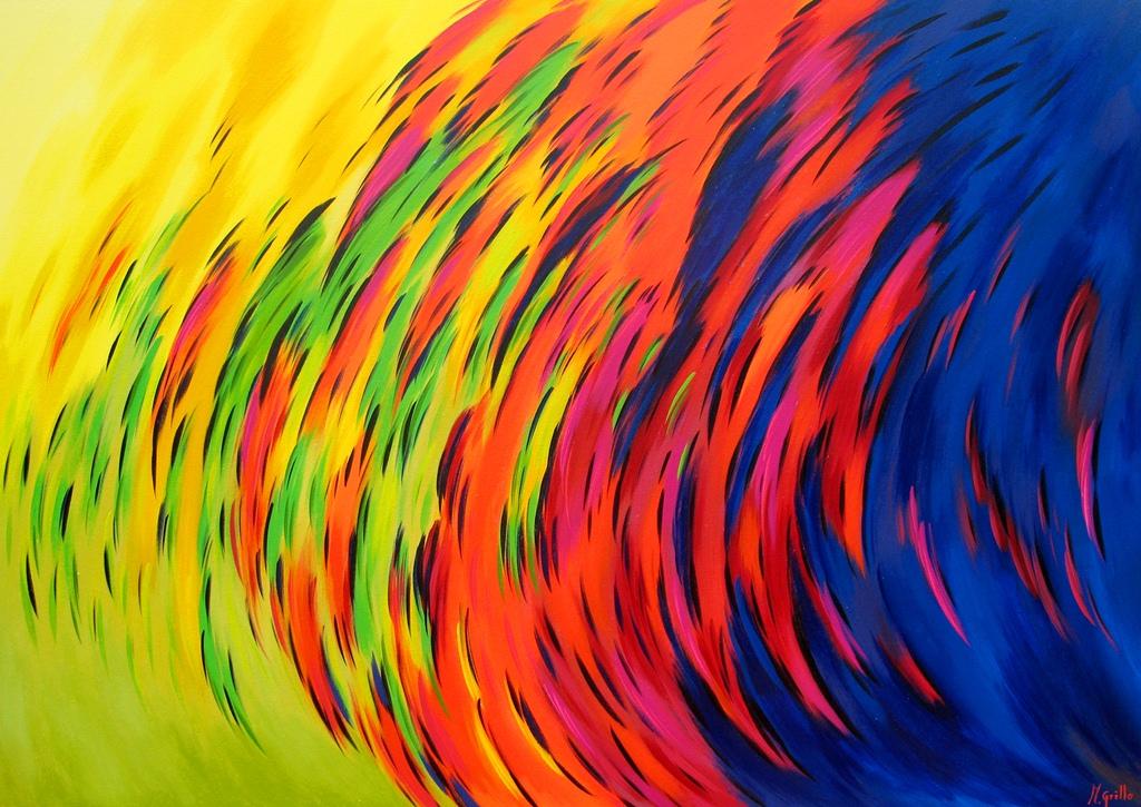 Los mejores pintores fot grafos y escultores de colombia for Imagenes de cuadros abstractos con acrilicos