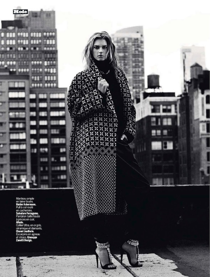 sigrid agren by victor demarchelier for l'express styles 4th september 2013