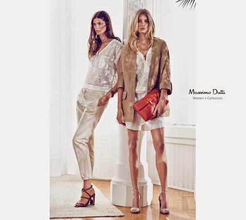 Massimo Dutti ropa mujer top short bordados sandalias de tacón