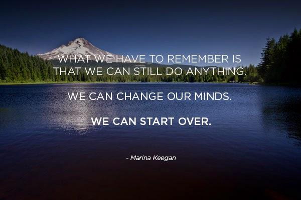 lake trillian, inspirational quote, marina keegan