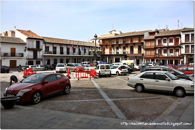 Plaza mayor La Puebla de Montalbán