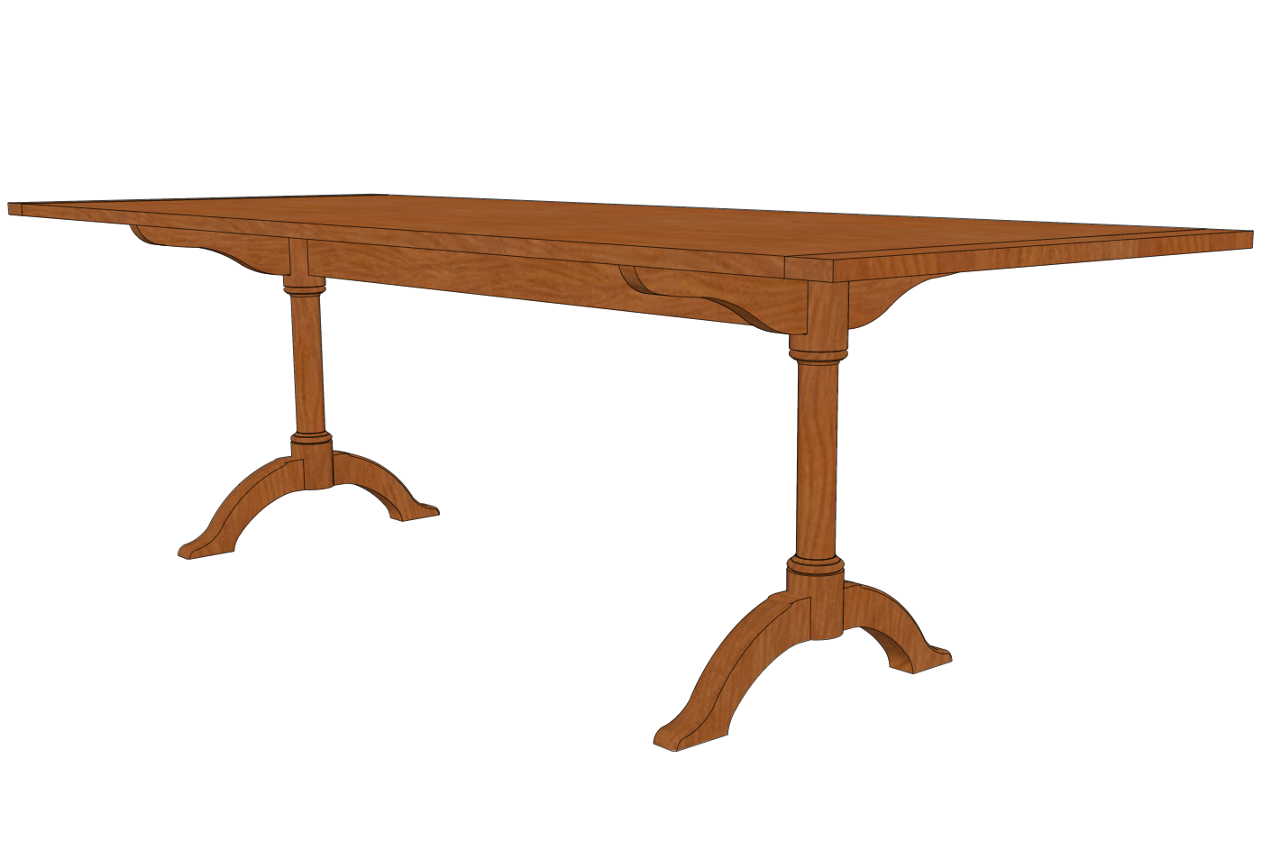 Retired sketchup blog the value of clean modeling for Table th value