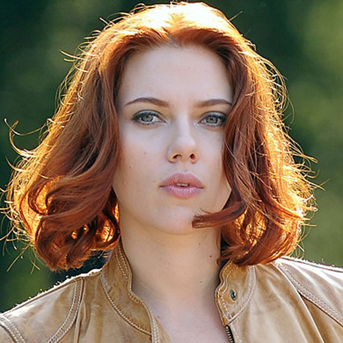 Scarlett Johansson hair - The Hot Bob