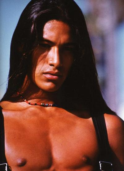 Rick Mora is a model and actor. He's unreal, magnificent looking guy ...