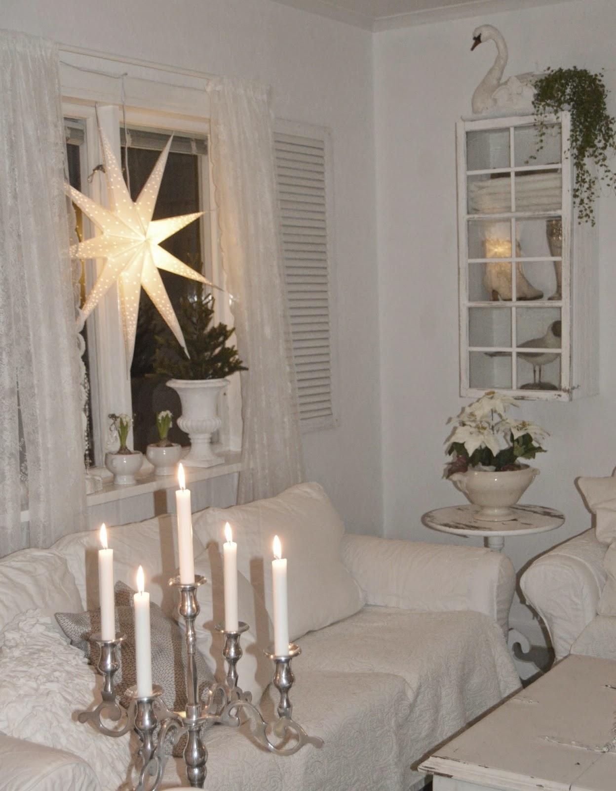 Hagbacken.blogspot.se ~: julfint i vardagsrummet