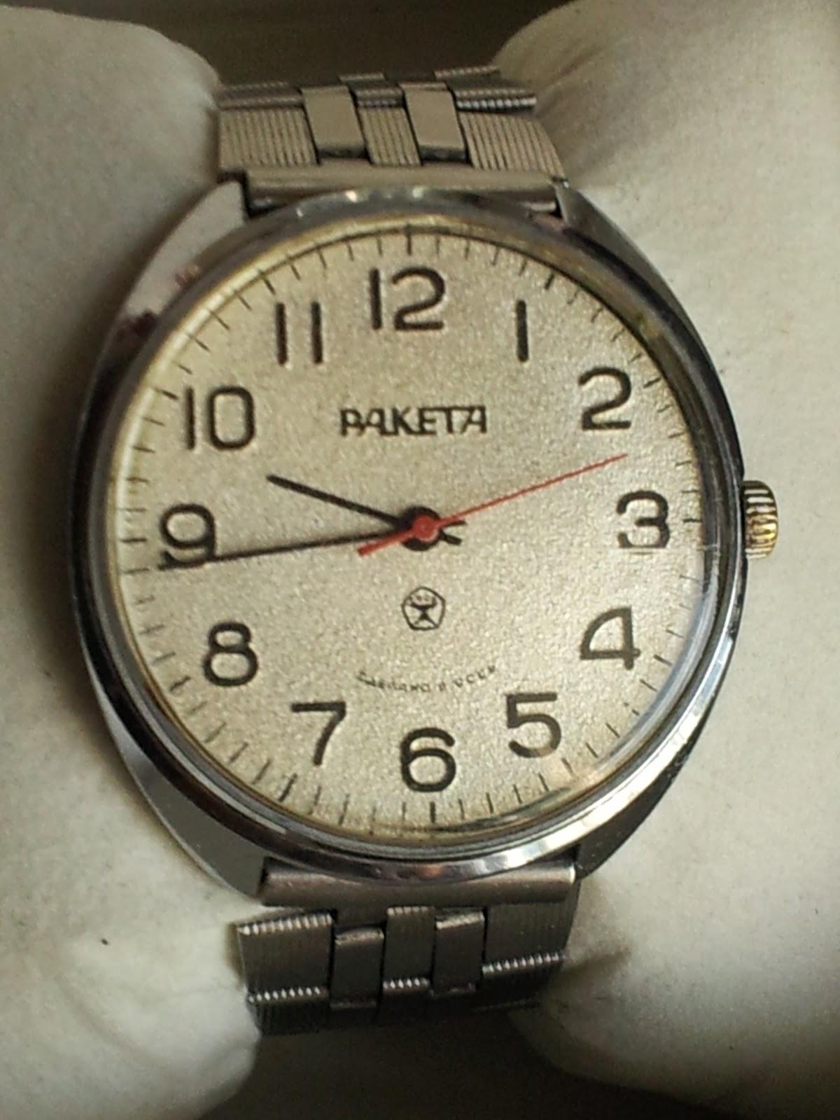 Perpetual Calendar Watch >> Soviet Russian Timepieces - Poljot, Raketa, Vostok: Raketa - Paketa