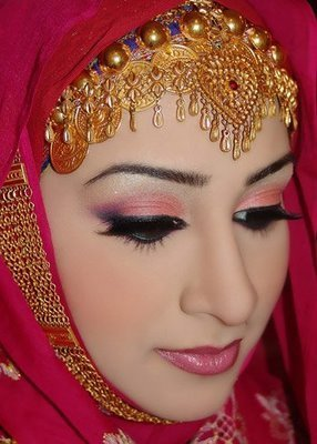 Bridal Hijab Designs 2013