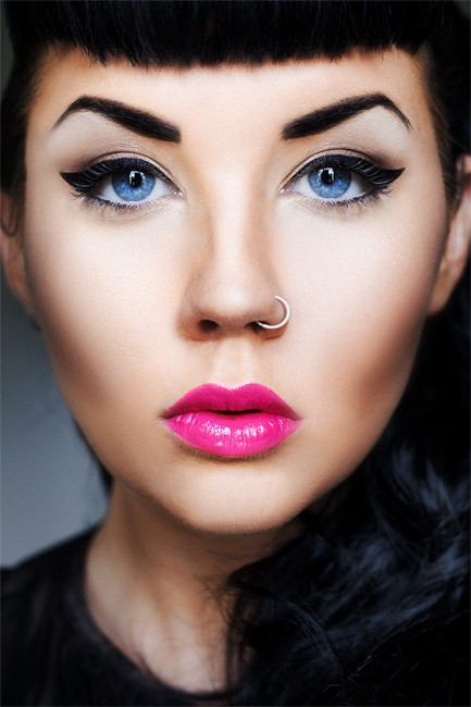 Especial maquillaje look pin up - Maquillage pin up ...
