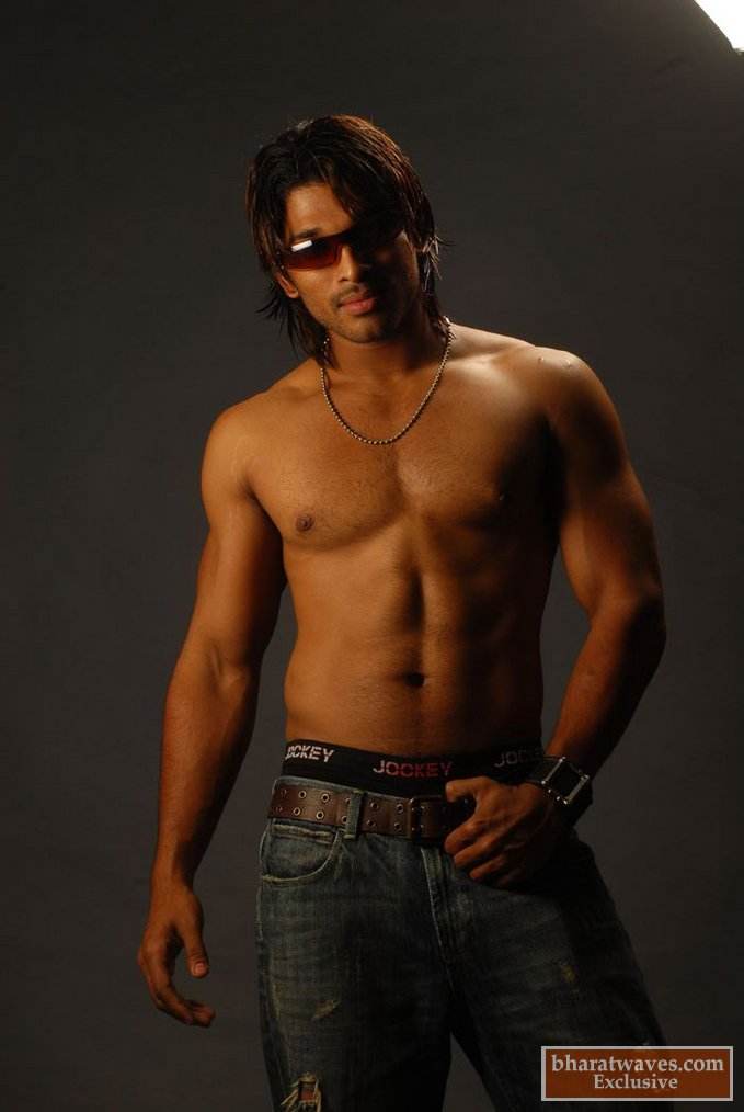 Style star allu arjun rocking fans bunny six pack pics bunny six pack pics thecheapjerseys Image collections