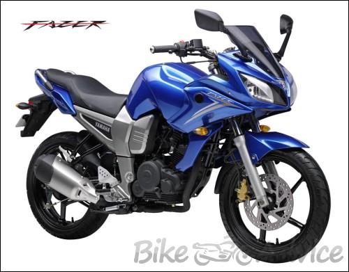 bikes wallpapers: Yamaha Fazer - 57.2KB