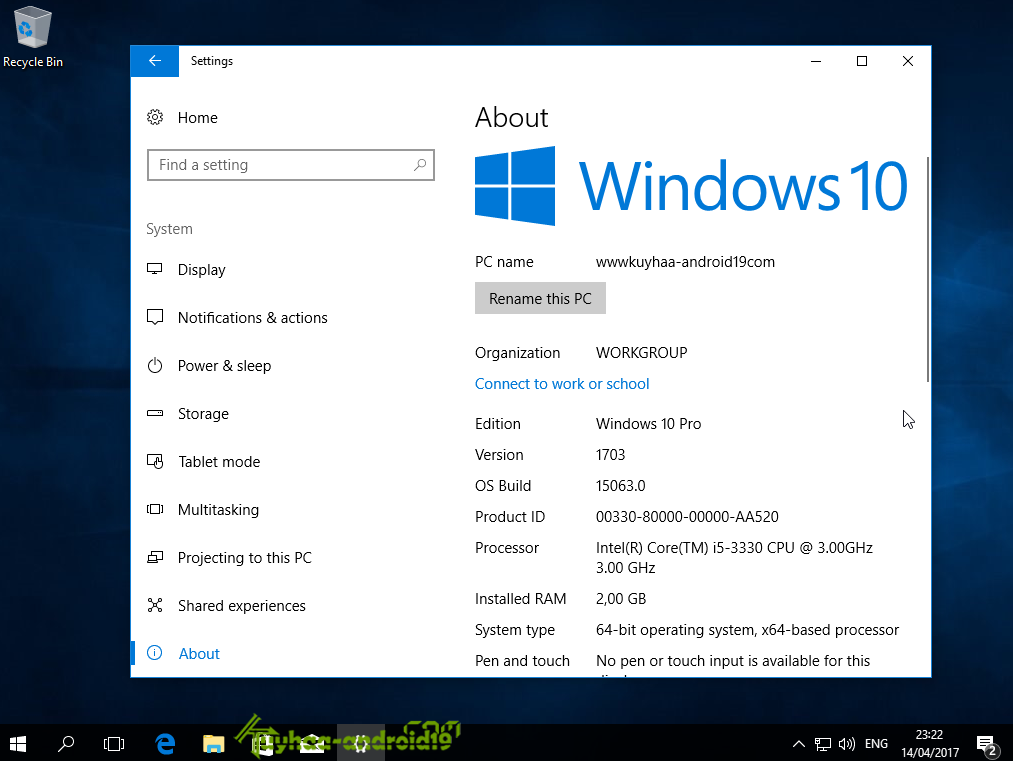 Windows 10 Build 15063 Version 1703 (Creator Update) RS2 MSDN