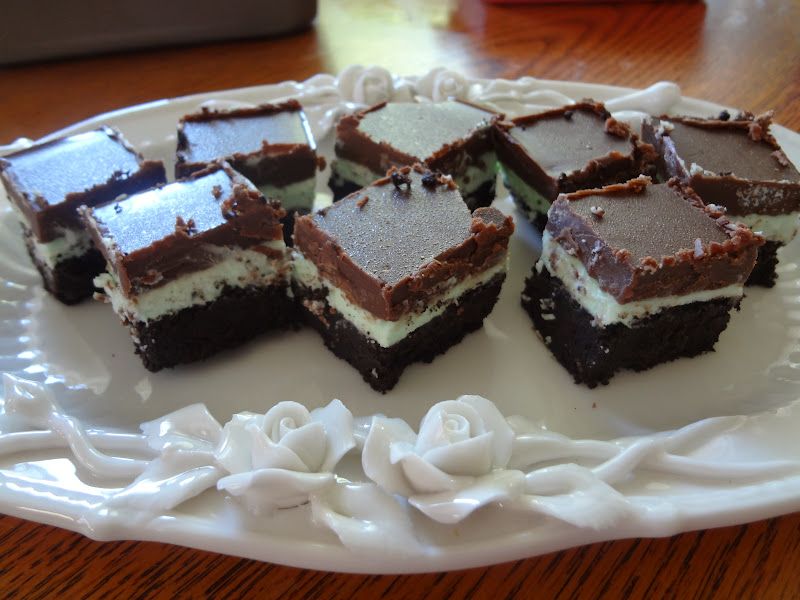 Cookin' Mama: No-Bake After-Dinner Mint Bars
