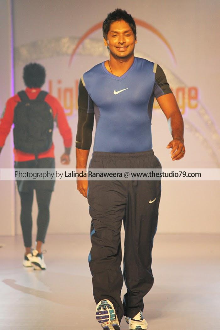kumar sangakkara fashion show
