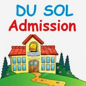 DU SOL Admission 2015