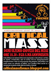 Volantino Critical Mass Firenze
