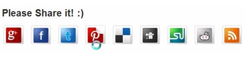 Como compartir todo tipo de Widget de las mejores redes sociales utilizando los métodos de flipper