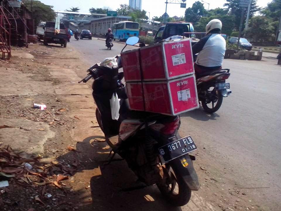 Kurir Delivery Shock Breaker Murah Jakarta