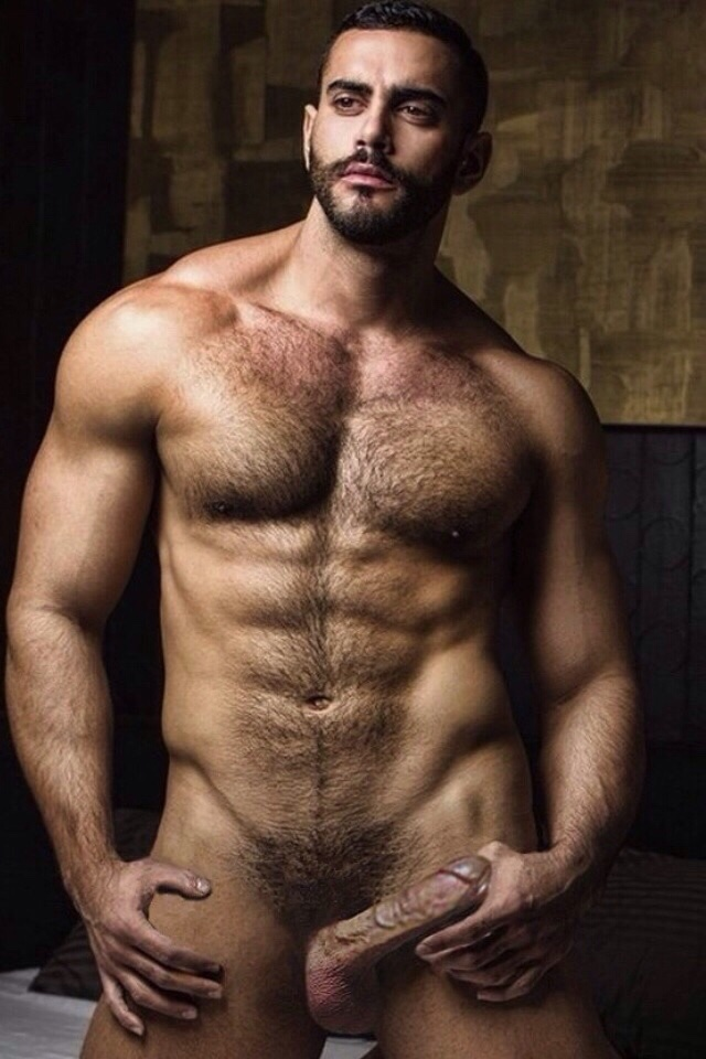 Hairy very men handsome