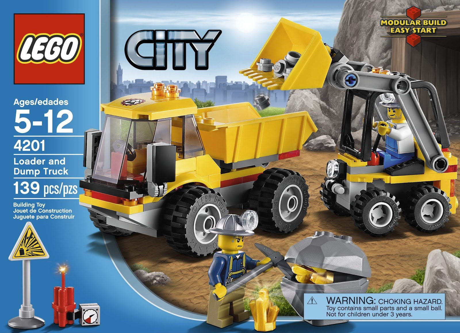 Toy Building Set For Boys : Repubblick set database lego loader and tipper