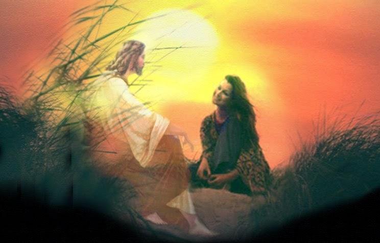 Jesus conversando