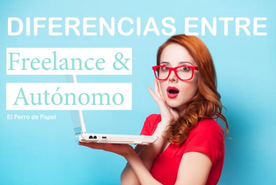 Las diferencias entre freelance y autónomo
