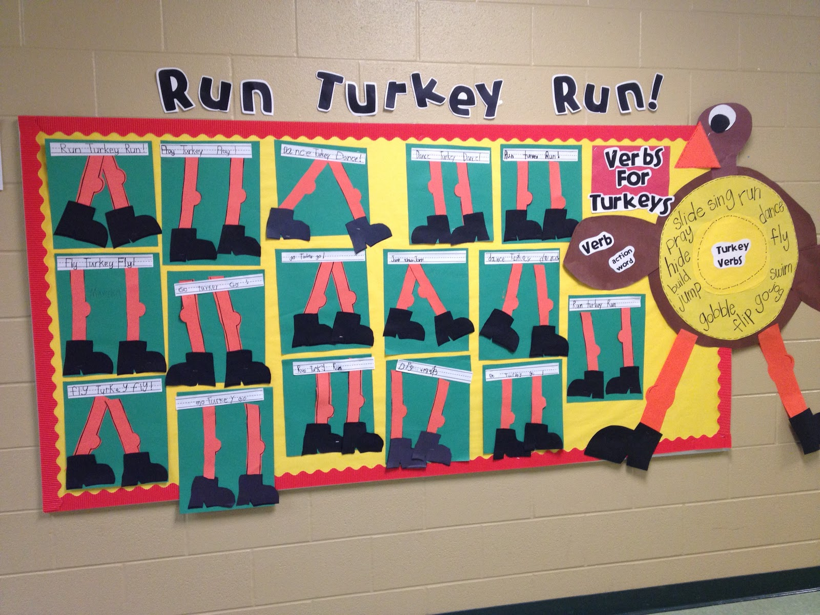Thanksgiving Costumes and Turkey Run Template - Tunstall\'s Teaching ...