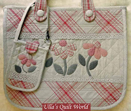 Quilt bag - Japanese patchwork