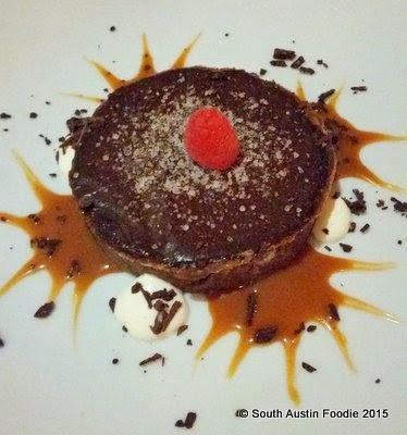 Alcomar chocolate tart