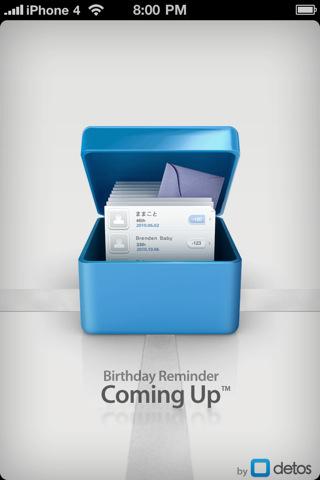 Coming Up - Birthday Anniversary Reminder IPA App Versi