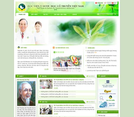 địa chỉ thiết kế website bệnh viện cơ sở uy tín chất lượng cao