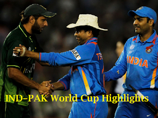 IND vs PAK -2nd Semi Finals -World Cup'11 -30th Mar -Highlights
