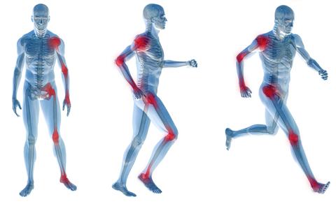 Artrose, fibromialgia e artrite reumatoide.