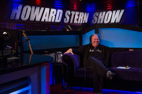 Neil Young in The Howard Stern Show