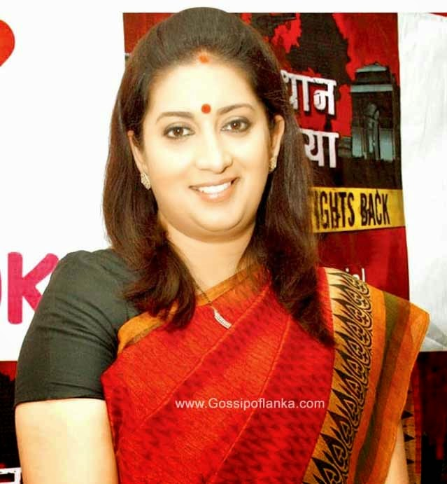 Gossip Lanka News - Minister Smriti Irani finds peeping cameras in clothing store