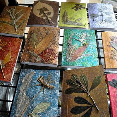 Reciclatex Idea para hacer libretas de otoño
