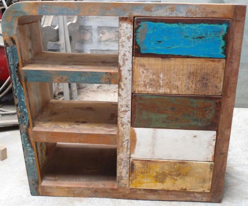 Reclaimed Wood Panel Art