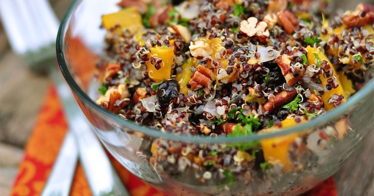 Nourishing Meals: Black Quinoa and Roasted Pumpkin Salad