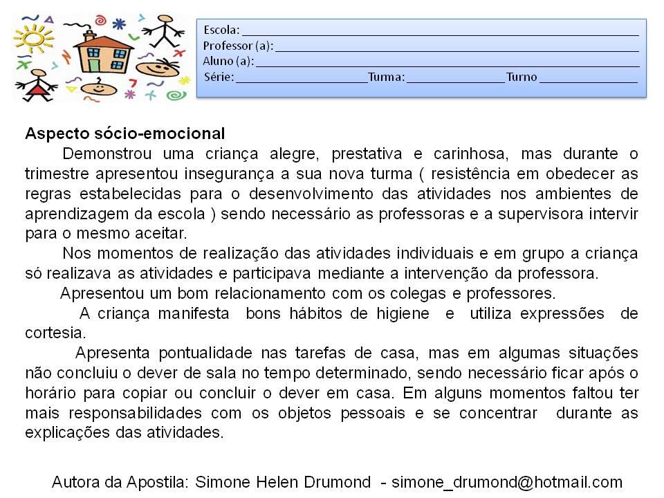 Relatório de observação de quatro aulas de língua portuguesa de eja t3 10