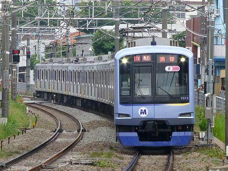 東急東横線 急行 渋谷行き7 Y500系