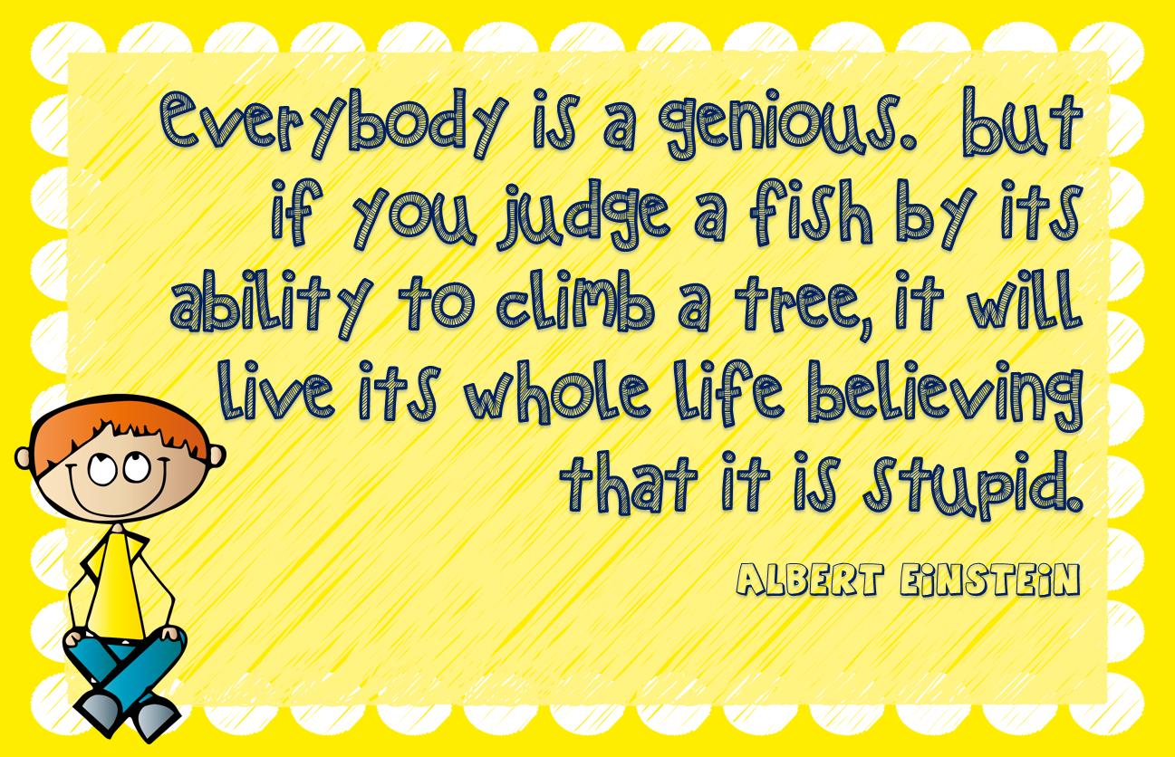 Todos somos genios...